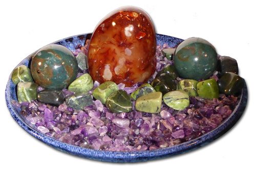 Love Energized Healing Crystal Sculptures