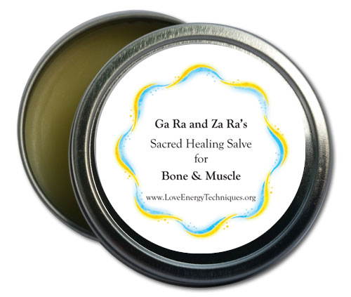 Sacred Healing Salve - Bone and Muscle
