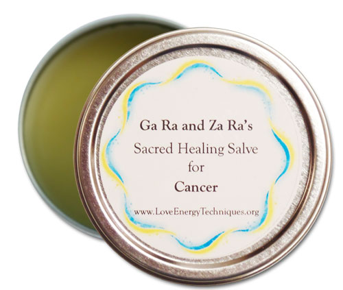 Sacred Healing Salves - Cancer