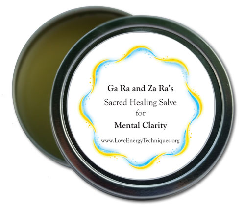 Sacred Healing Salve - Mental Clarity