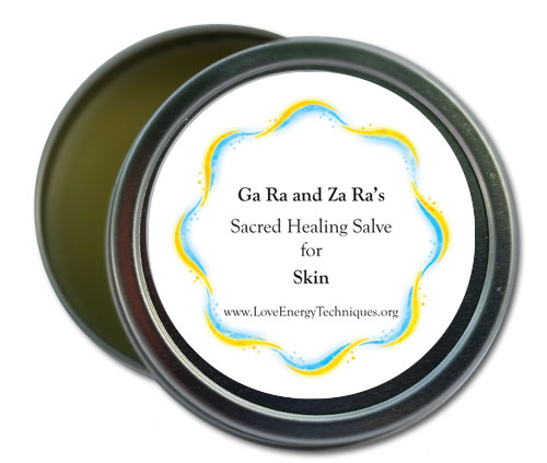 Sacred Healing Salves - Skin