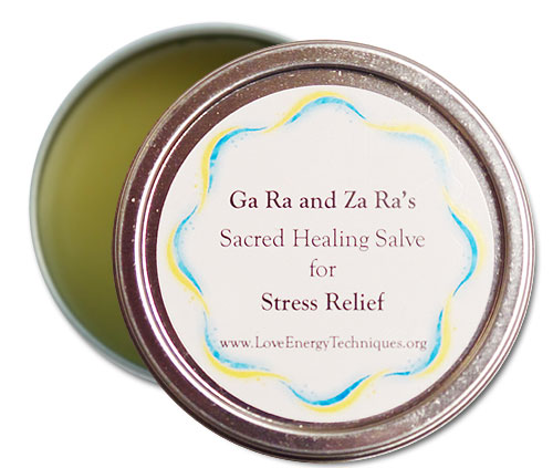 Sacred Healing Salves - Stress Relief